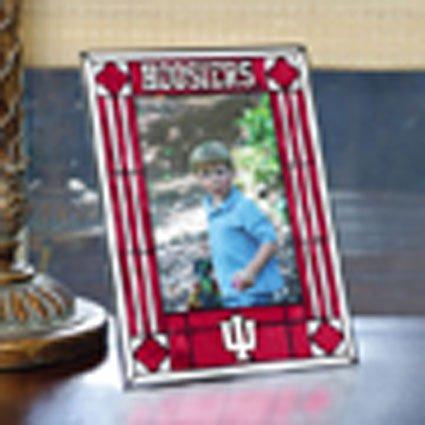 NCAA Indiana Art Glass Frame