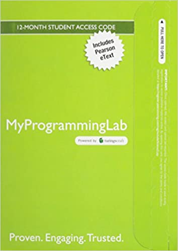 Amazon mylab programming with pearson etext access card amazon mylab programming with pearson etext access card for starting out with c from control structures through objects 7th edition fandeluxe Image collections