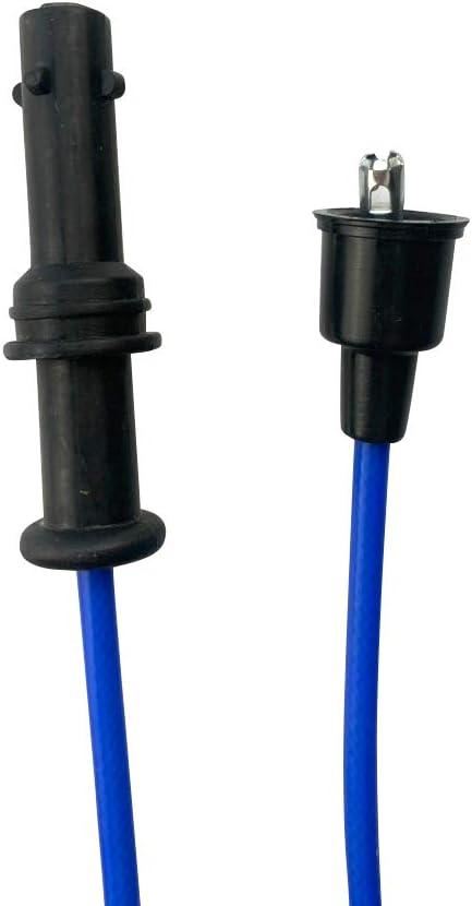 Cable Master Spark Plug Wires Compatible with Subaru Impreza Legacy SOHC 2.2L