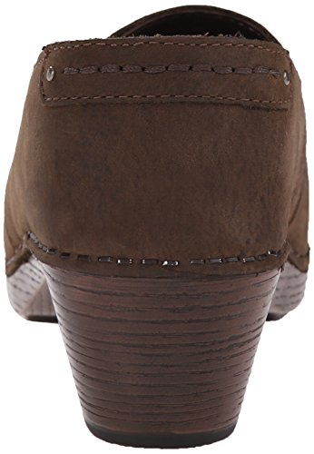 Pump Mavis Dress Nubuck Milled Women's Brown Dansko fzaUwqz