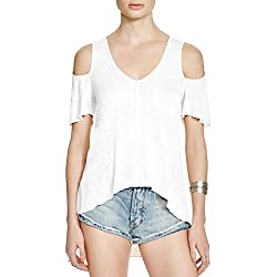 Free People Womens M Ivory