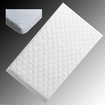 cuna Colch/ón de espuma para beb/é INSPIRE 74 X 35 X 4.5 CM todos los tama/ños cama de fibra de vidrio acolchado y resistente al agua