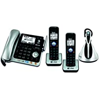 AT&T TL86109 2-line corded/cordless phone system with cordless headset (2 Handsets)