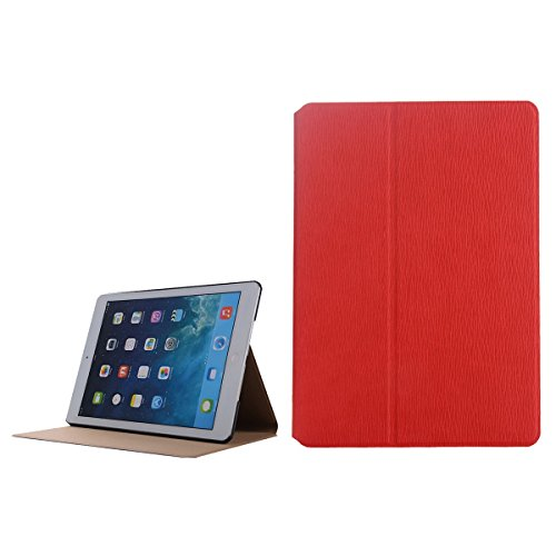 inShang 9.7 inch iPad (2017) Fundas soporte y carcasa para Apple 9.7 inch iPad (2017) ( , smart cover PU Funda ,art style red