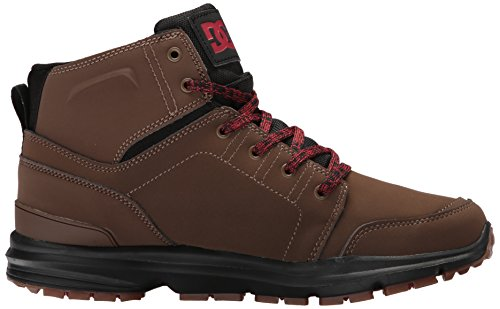 DC Men's Torstein Ankle Boot, Dark Chocolate, 11 D D US