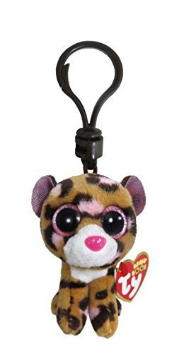 TY Beanie Boo Plush - Patches the Leopard Clip 3 Keychain by Ty ... 7a7d02d42e9