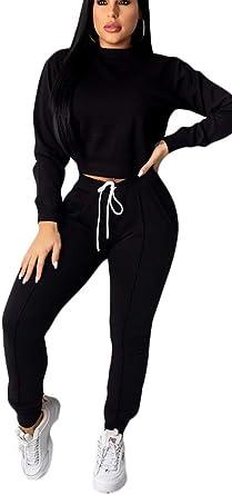 Blansdi Women Fashion Floral Print Active Tops Jacket Long Pants 2 Piece Suit Sets Outfits Tracksuits