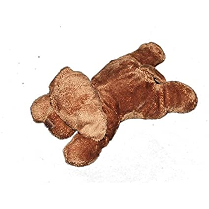 Peluche Peluche Perro marrón Max y Sax Carrefour L 20 cm