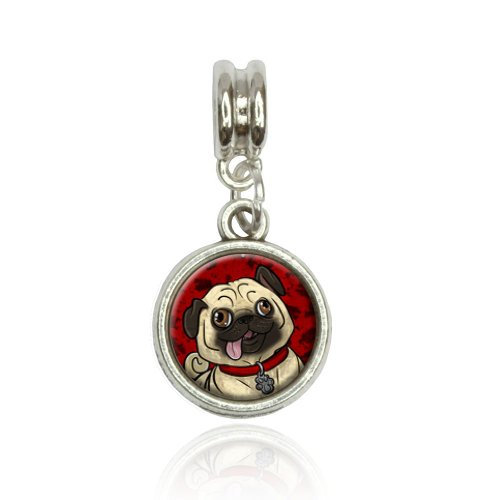 Pug Sticking Out Tongue...