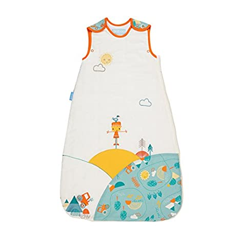 innovative design 400c0 99d66 The Gro Company Folk Farm Grobag Baby Sleeping Bag , 0-6 Months, 2.5 Tog