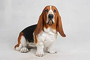 Amazon Com Dog Basset Hound Large Statue Garden