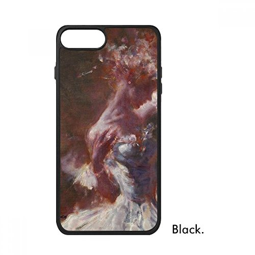 (Wet Rouge Beauty XJJ Oil Painting for iPhone 7 Plus Cases Phonecase Apple Cover Case Gift)