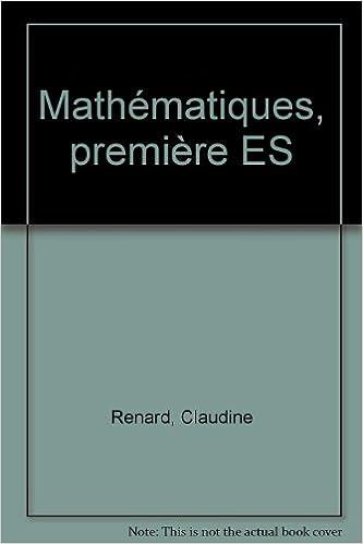 Lire Exercices résolus : mathématiques, 1re ES epub, pdf