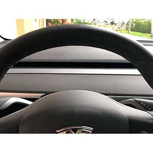 outlet EVamped Tesla Model 3 Dash Vinyl Wrap Kit-Black