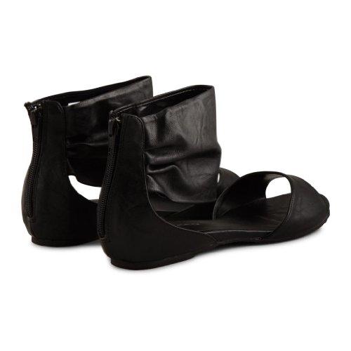 Footwear Sensation - Sandalias de vestir de sintético para mujer, color blanco, talla 38.5