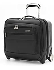 Ricardo Beverly Hills Luggage Crystal City 16 Inch Wheeled Tote, Black, Small