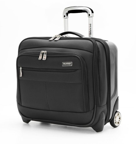 Ricardo Beverly Hills Luggage Crystal City 16 Inch Wheeled Tote, Black, - 16 Tote Wheeled