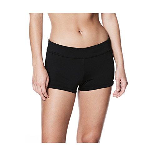 NIKE Women's Kick Shorts Black Small (Swimwear Nike Womens)
