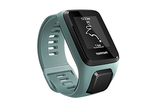 TomTom Spark 3 Cardio, GPS Fitness Watch + Heart Rate Monitor (Aqua, Small) TomTom