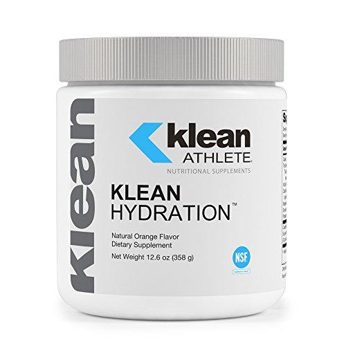 Electrolytes Fluid Balance (Klean Athlete - Klean Hydration - Electrolyte Replacement Formula to Hydrate, Maintain Electrolyte Balance, and Rehydrate During Physical Activity* - Natural Orange Flavor - 12.6 oz (358 g))