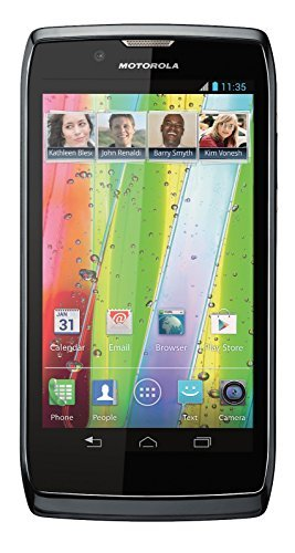 Motorola RAZR V XT886 Unlocked GSM Smartphone w/ Android 4.0, Dual-Core Processor and 8MP Camera - Black ()