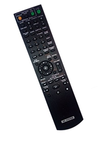 Replaced Remote Control for Sony DAV-HDX475 HCDHDX475 DAVHDX576 DAV-HDX587WC DAVHDX275 Home Theater Audio/Video Receiver AV System by JustFine
