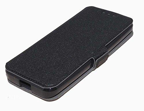 Handy Tasche Case book für Nokia 230 / Handytasche Schutzhülle Etui schwarz