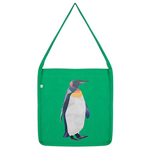 Penguin Envy Geometric Twisted Twisted Green Envy Bag Tote 18qPn