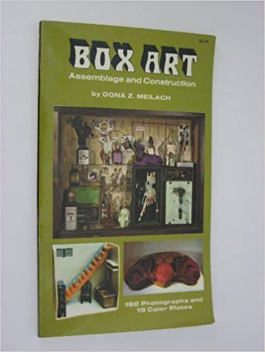 Book Box Art Assemblage and Construction