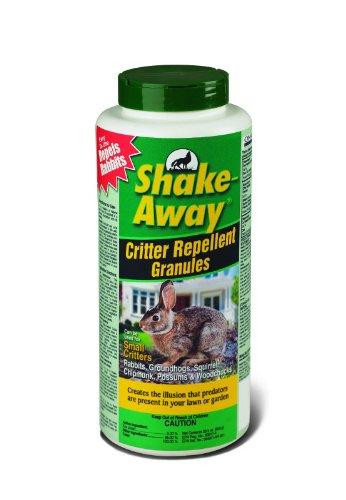 Shake-away 2852228 28.5 Oz Bottle Small Critter Repellent Granules Fox - Repellant Granules