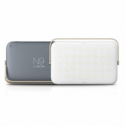 ONAN KOREA N9-Lumena+ Camping LED Lantern metal black / LED Warm white Color / Camping Accessories
