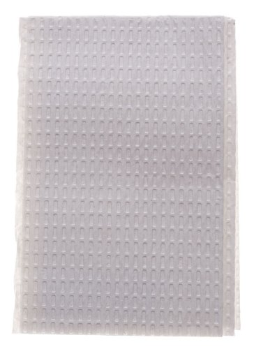 Medline NON24357W 3-Ply Tissue Professional Towels, 13'' x 18'', White (Pack of 500)
