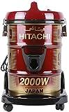 Hitachi 2000 Watts Can Type Y Series Vacuum Cleaner, CV950Y RED