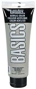 Liquitex BASICS Acrylic Paint 8.45-oz tube, Neutral Gray Value 5
