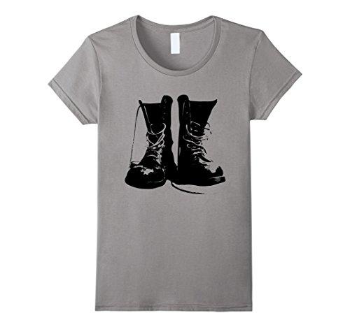 Best Womens Grunge Rock Boots Shirt 90s Punk Rocker Band
