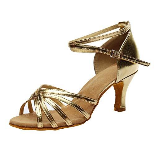 Alti Dorato Cinturino Elegant A Elegant Donna Con Moda Punta Da Caviglia Tacchi Abcone Pantofole Sandali Scarpe Estive Alla Tacco Alto HzZqqU1O
