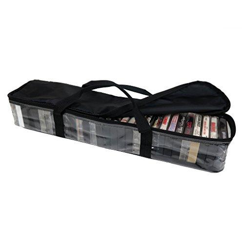 Evelotsカセットテープストレージキャリーケース、最大30を格納Cassettes   B0773D543G