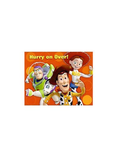 Toy Story 3 Invitations w/ Envelopes (8ct) ()