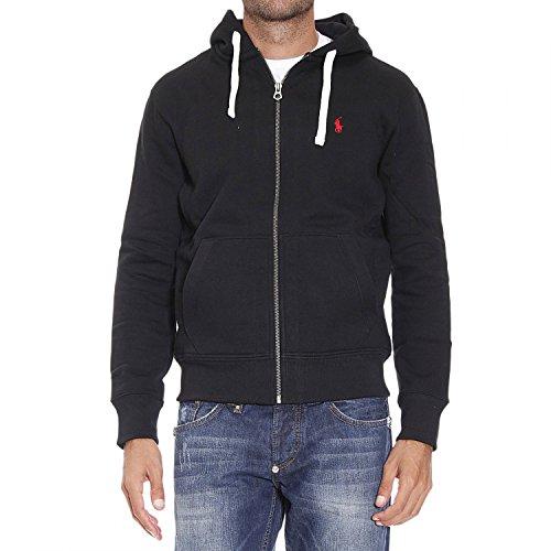 55da87249 RALPH LAUREN Polo Classic Full-Zip Fleece Hooded Sweatshirt at Amazon Men's  Clothing store:
