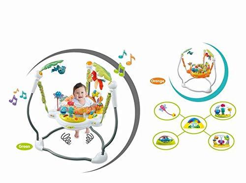 Jumper Baby Bouncer Jungle Jumperoo Activity Station KidsBliss
