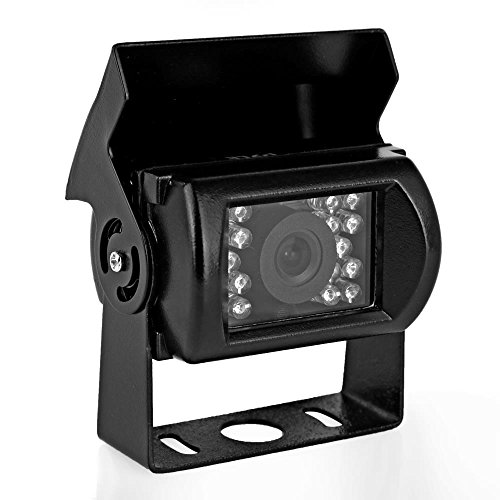 PYLE PLCMB20 Universal Mount Infrared Adjustable Angle Rear View Camera With Anti-Glare Shield