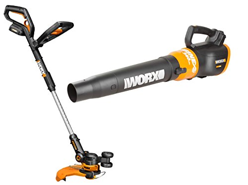 WORX WO7022 20-Volt GT 2.0 Trimmer and Turbine Blower Combo by Worx