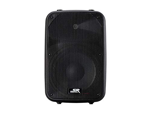Monoprice 2 Way Active PA System - 10 Inch with 2 Channel Mixer (Each), APS 10, 200W - Stage Right Series