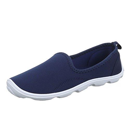 Ital-Design - Zapatos Mujer Azul