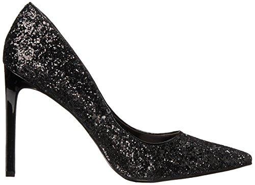 Bomba vestido sintético Nine West Tatiana Black Glitter