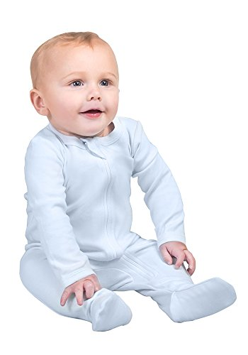 Organic Cotton Footie Pajamas - 5