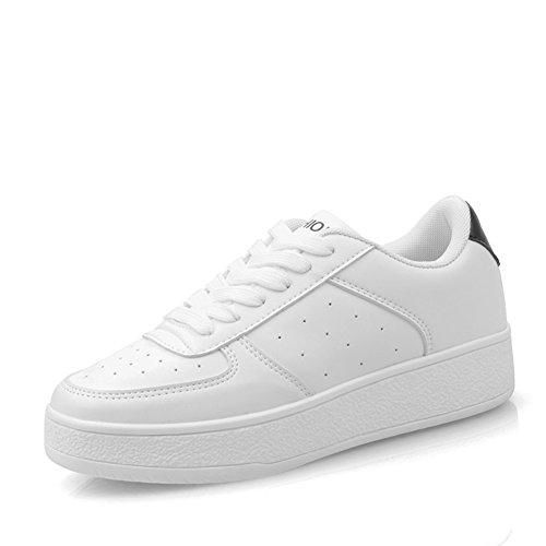 Deportes y ocio zapatos/Las señoras zapato de fondo grueso/zapatos femeninos de blancos pequeña/Zapatos de las señoras del C