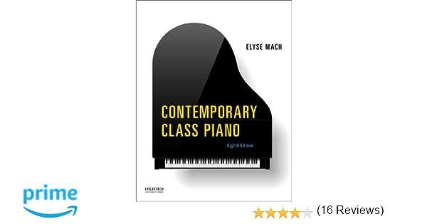 Contemporary class piano elyse mach 9780199326204 amazon books fandeluxe Gallery
