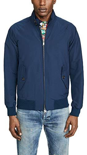 - Baracuta Men's G9 Classic Jacket, Navy, Blue, 44