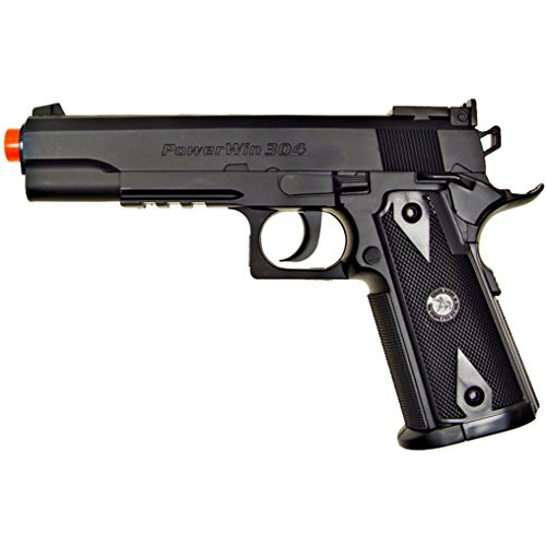 500 fps new wg airsoft 1911 non blowback gas co2 hand gun pistol w/ 6mm bb bbs(Airsoft Gun) (Blowback Rifles Gas)